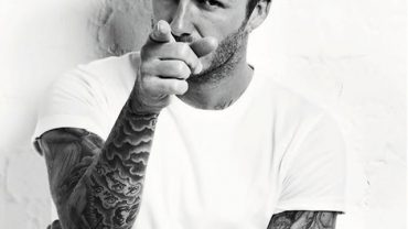 David beckham full sleeve tattoos