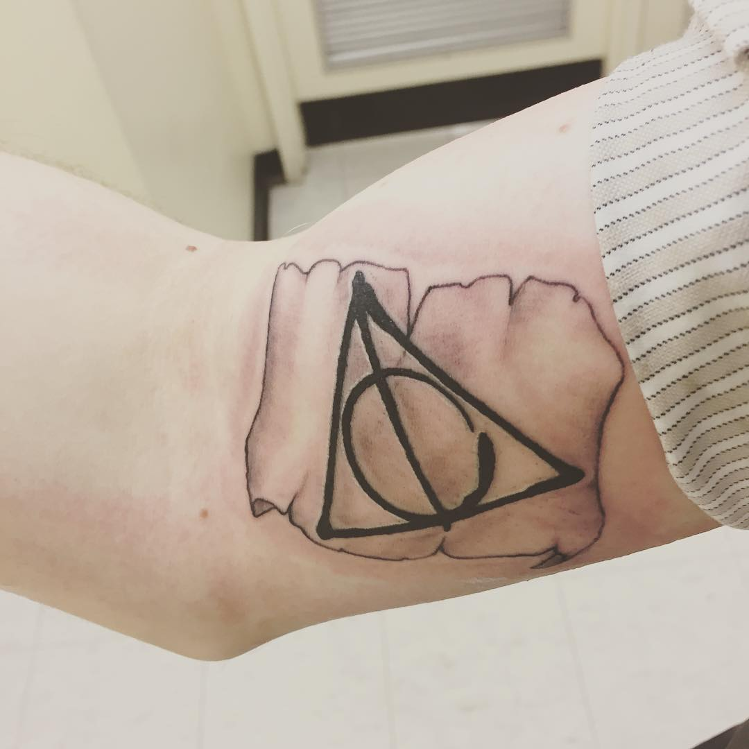 Deathly hallows tattoo 1