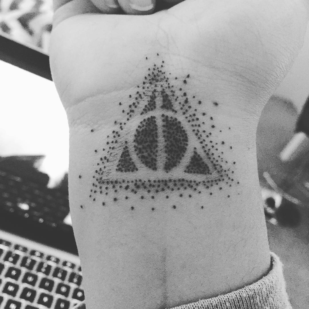 Deathly hallows tattoo 4