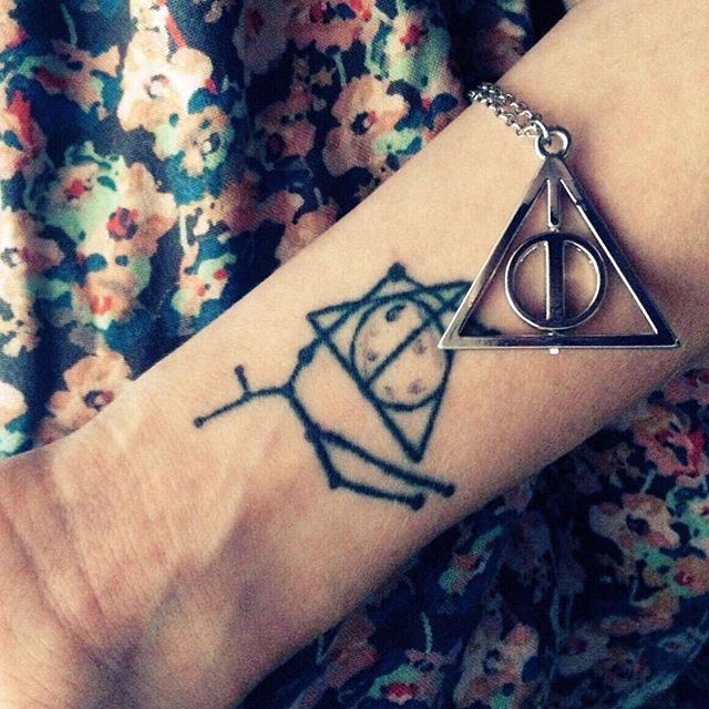 Deathly hallows tattoo 5