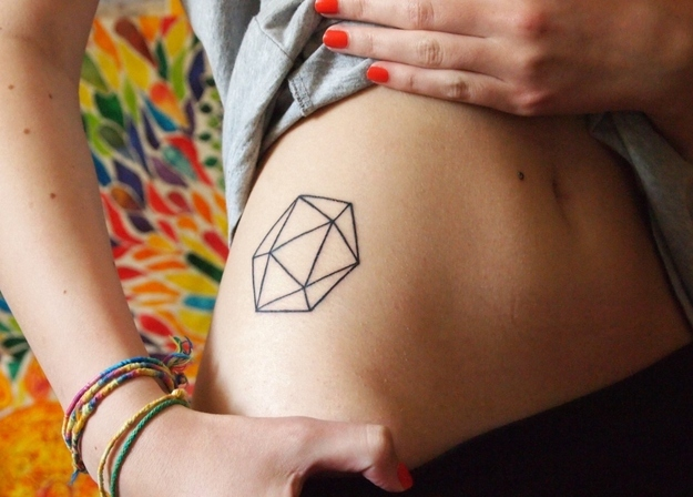 Geometric Tattoo ideas for women