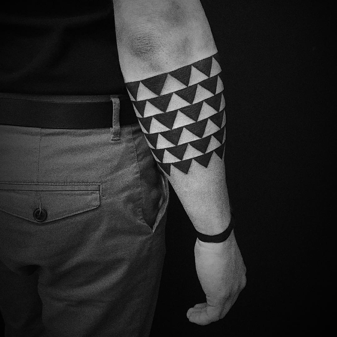 Geometric Tradional Tattoos