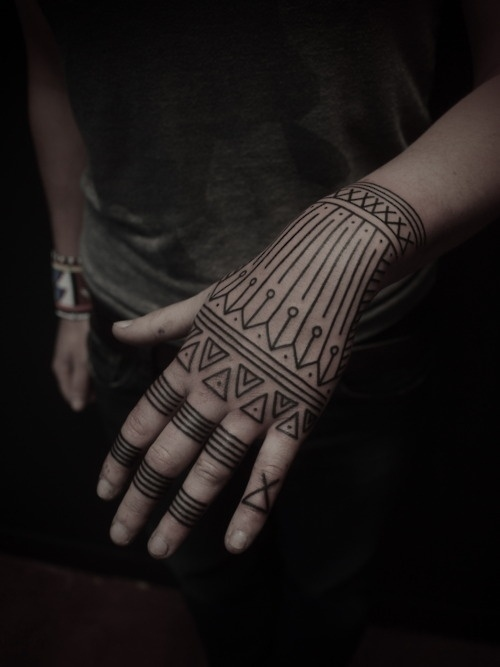 Geometric Tattoos 50
