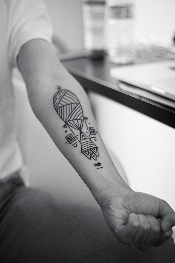 geometric tattoo Houston