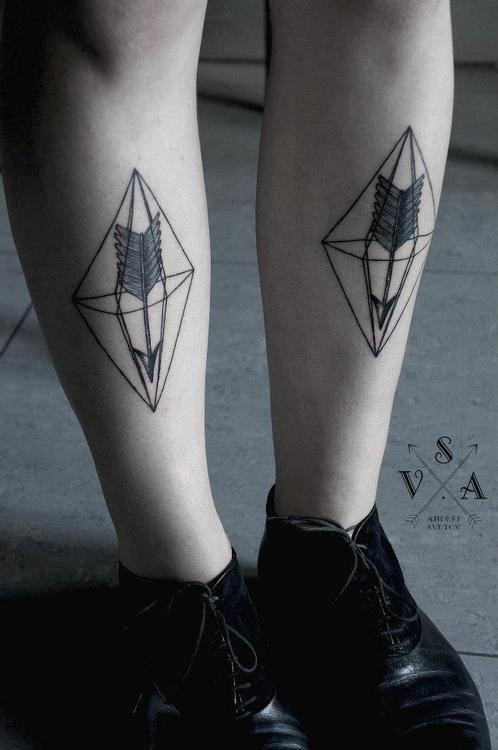 Geometric Arrow Tattoo Ideas
