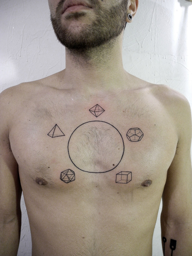 geometric tattoo artist in Ohio