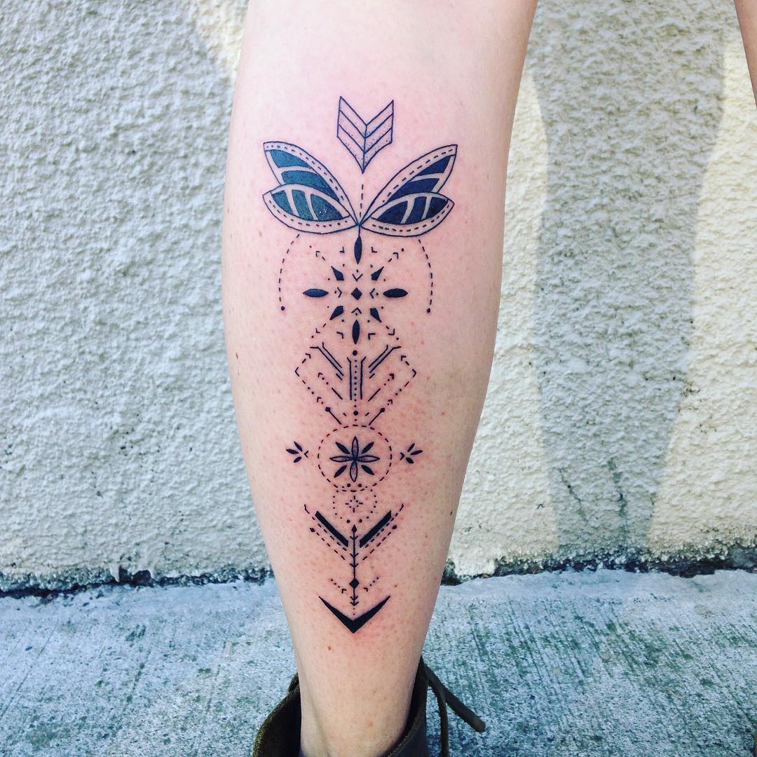 Geometric Tattoo 79