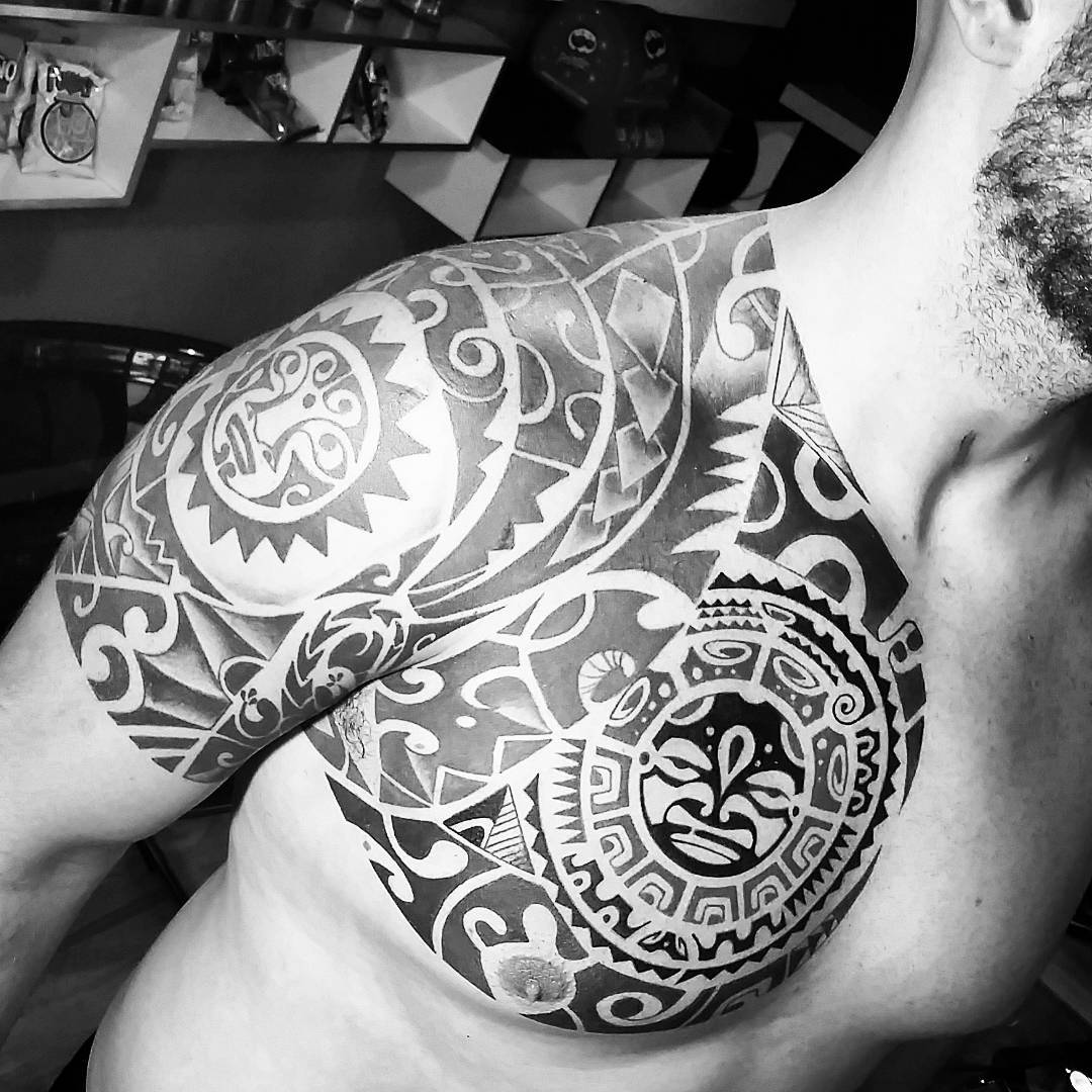 ca505e88b Half Sleeve Maori Tribal Tattoos for Men