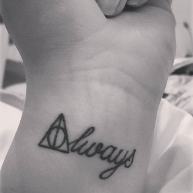 Tatuaje Always 145 most magical harry potter tattoos you'll want to see