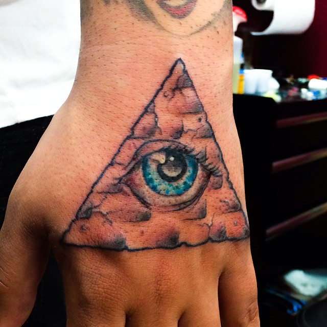 Pyramid Eye Tattoos