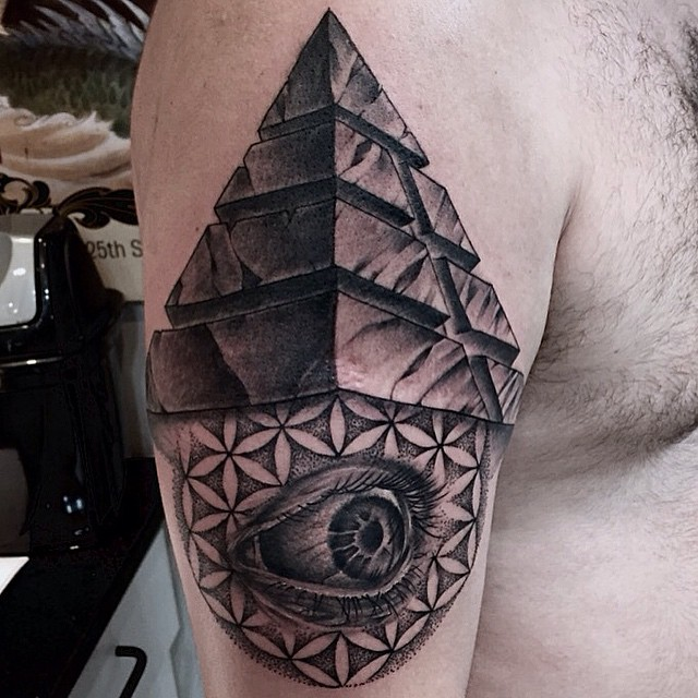 Pyramid Ink Tattoos