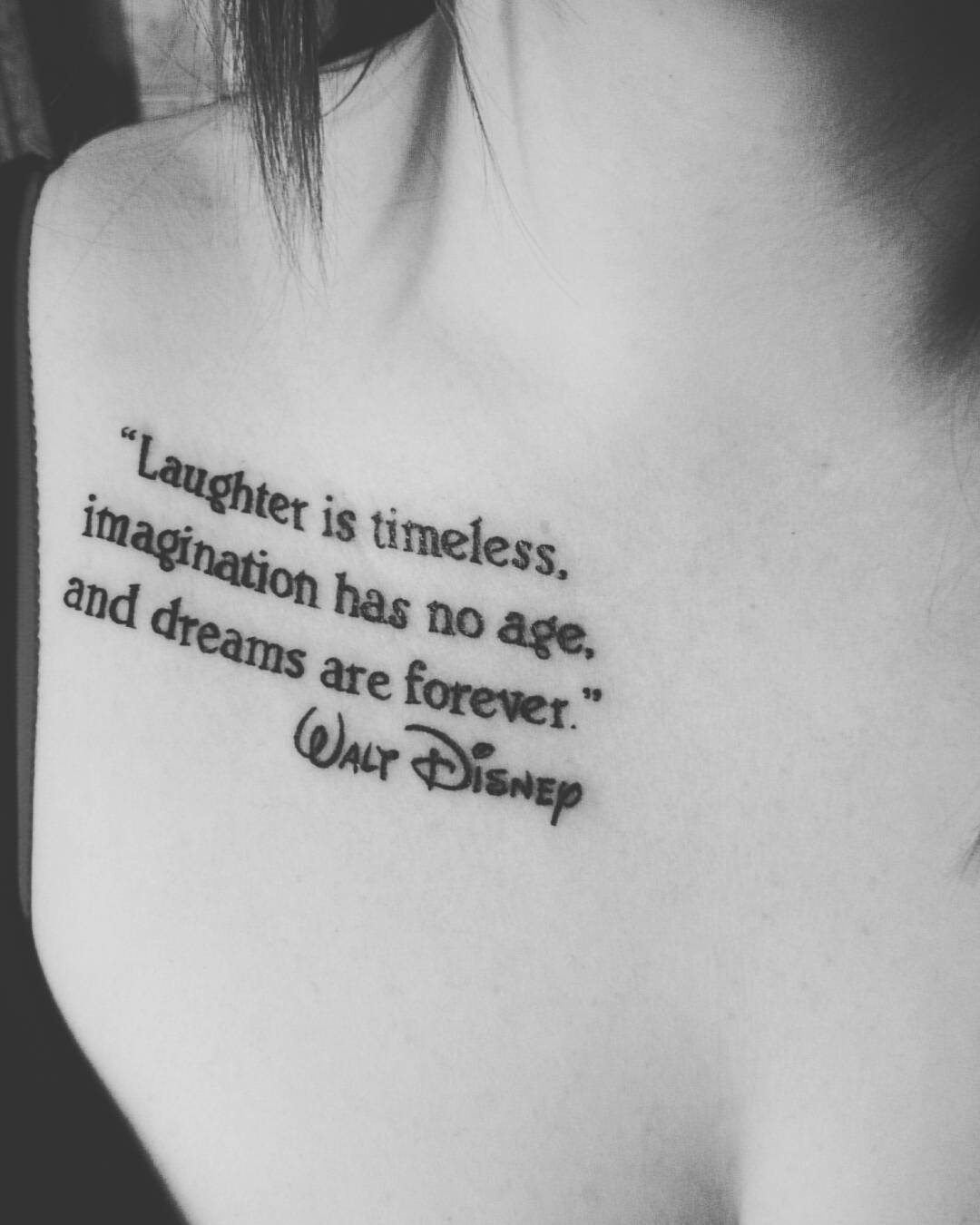 Love Quotes Tattoos For Couples 33 Fabulous Collar Bone Tattoos That Flatter Your Shape