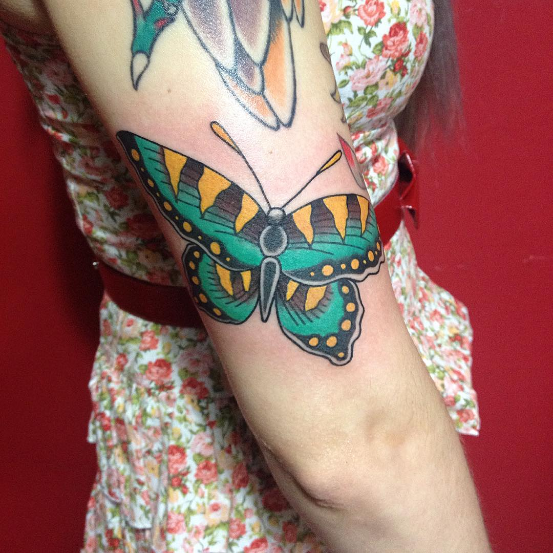 9 important life lessons butterfly tattoos meanings taught us for Feminine tattoos with meaning