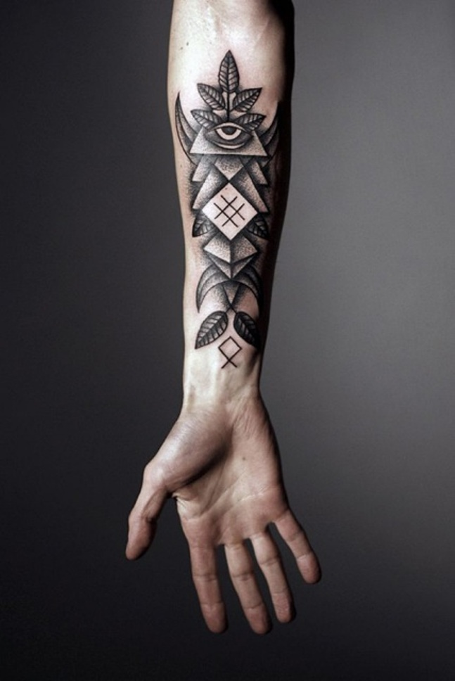 geometrical tattoo ideas