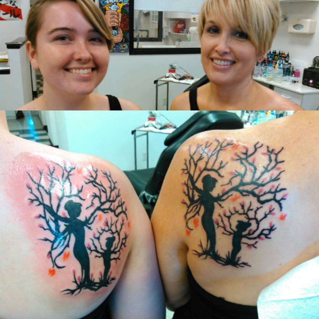 mother daughter tattoo ideas pictures 9