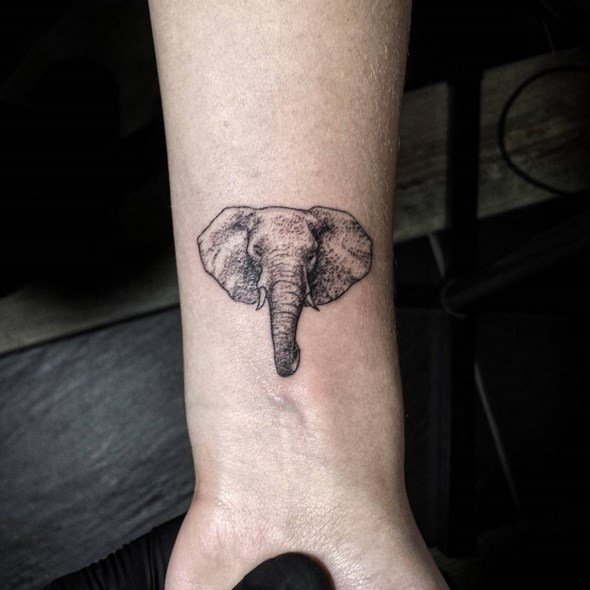 30 adorable tiny elephant tattoo for Elephant tattoo meaning family