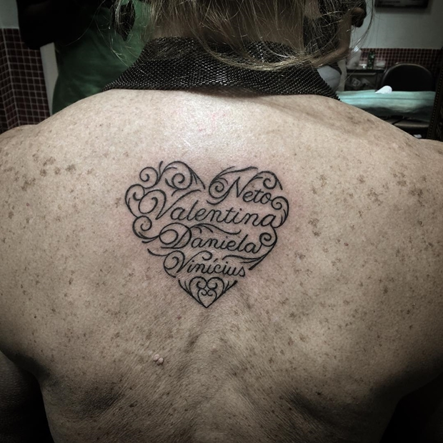 32 Best Heart Tattoos Images On Pinterest: 30 Beautifully Touching Tattoos Of Hearts With Names