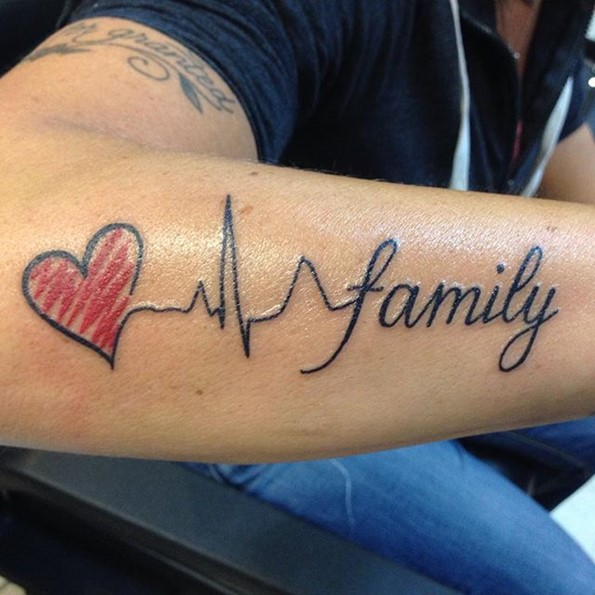 Family Tattoo Pics: 160+ Emotional Lifeline Tattoo That Will Speak Directly To