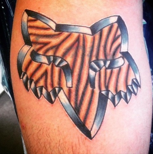 Fox racing tattoos for men