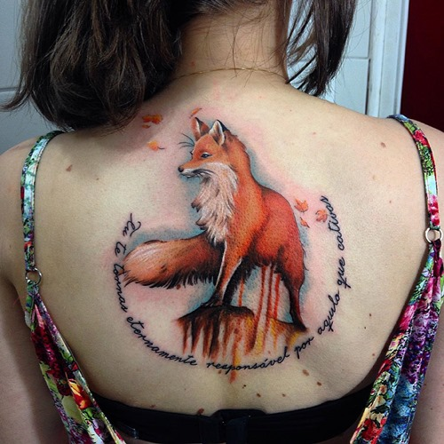 fox-tattoo-designs-with-words