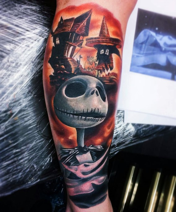 jack nightmare before christmas tattoos