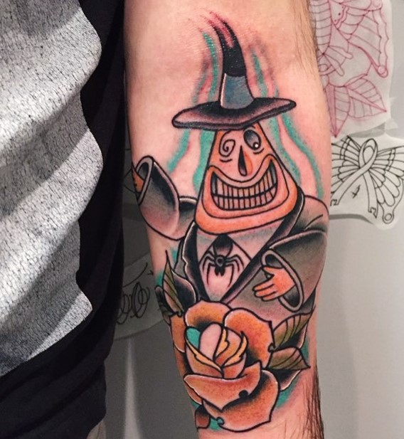 mayor of halloweentown nightmare before christmas tattoos