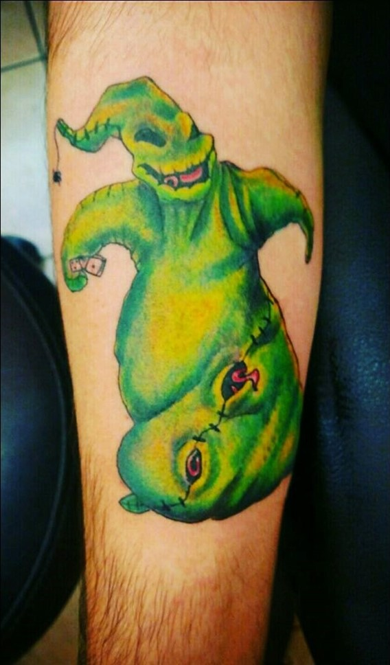 oogie boogie tattoos nightmare before christmas