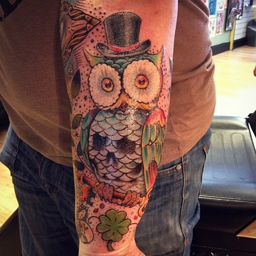 owl-and-skull tattoo-03