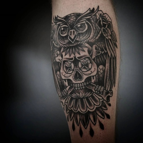 owl-and-skull tattoo-06