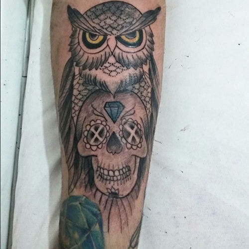owl-and-skull tattoo-32