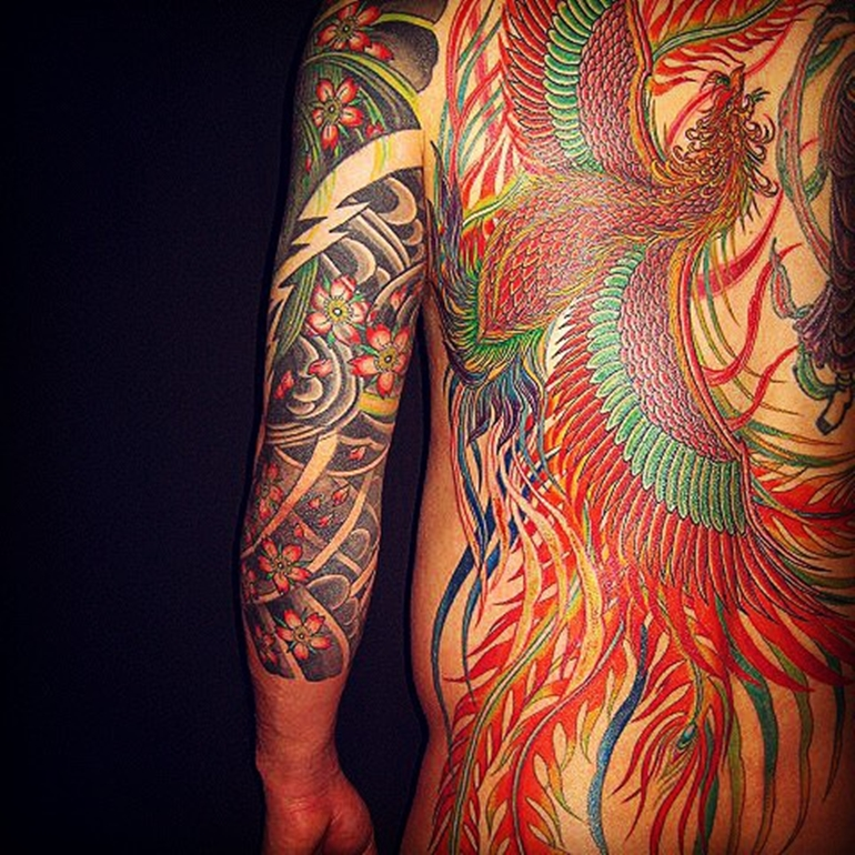 phoenix-tattoo-designs-japanese