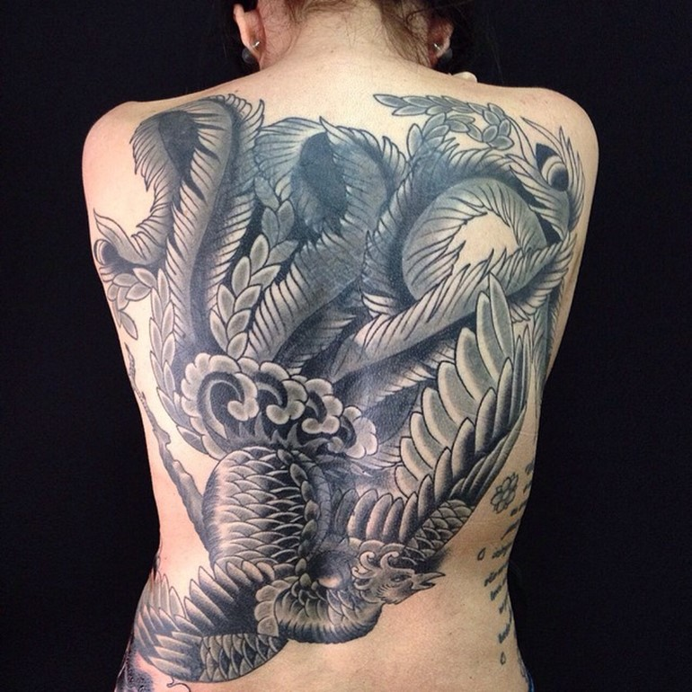 phoenix-tattoo-placement-on-back
