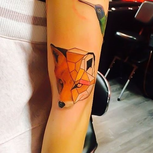 red-fox-head-tattoo-design-geometric
