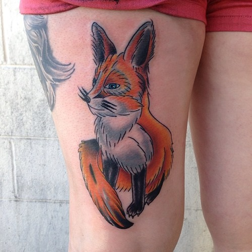 red-fox-tattoo-ideas-on-thigh