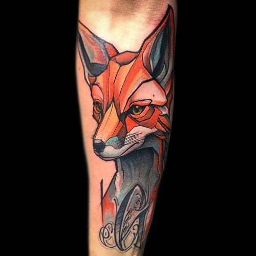 red-fox-tattoos-animal