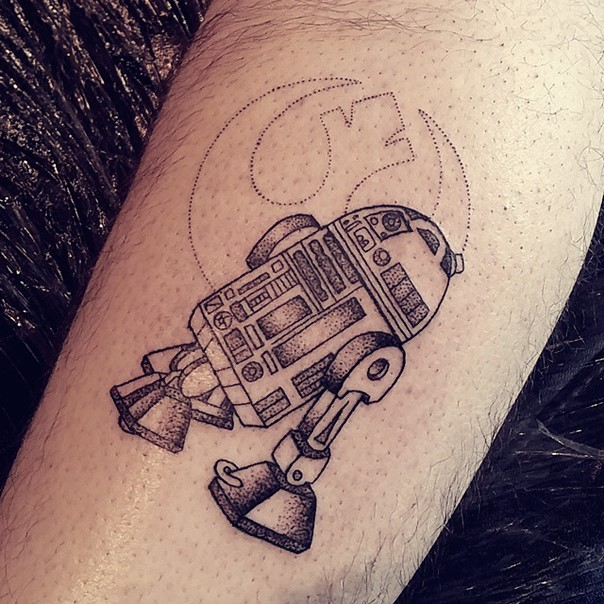 star wars tattoo r2d2-7