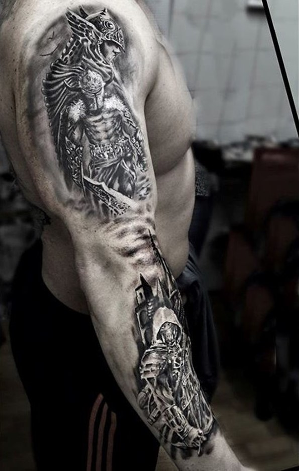 warrior-tattoo-designs-99
