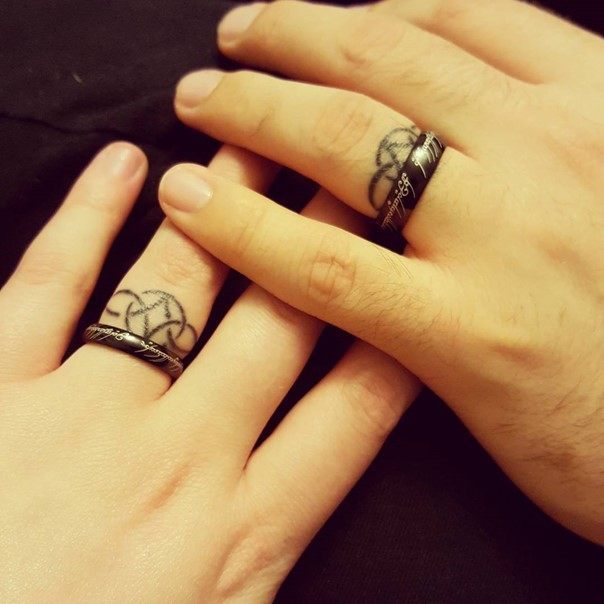 wedding ring tattoo-35
