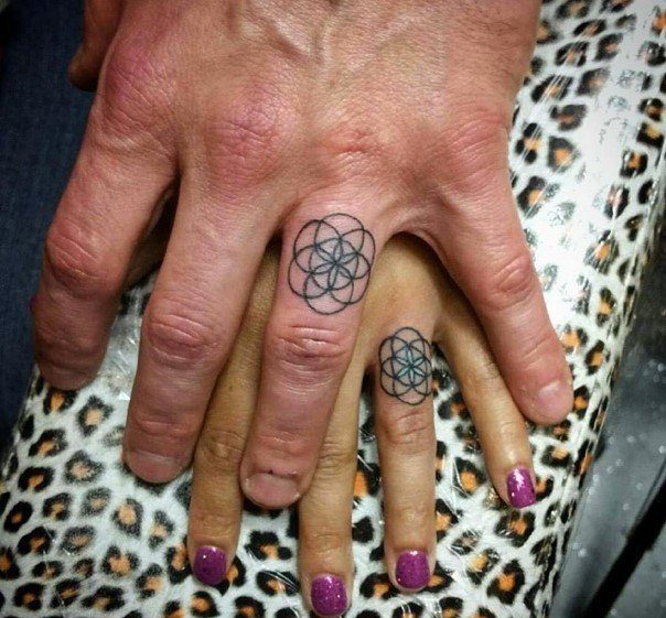 wedding ring tattoo-39