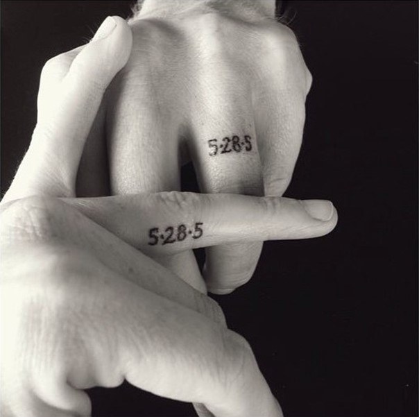 wedding ring tattoos date