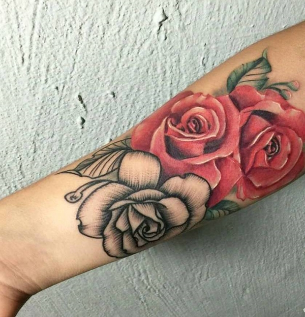 Black Rose Tattoo-10