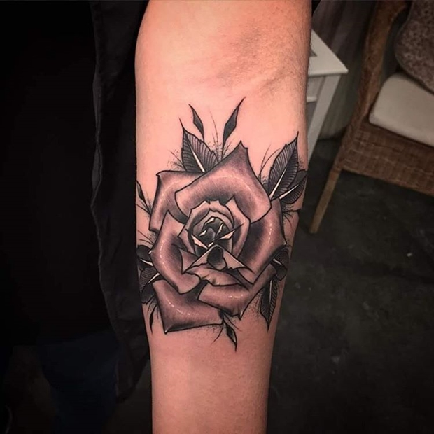 Black Rose Tattoo-12