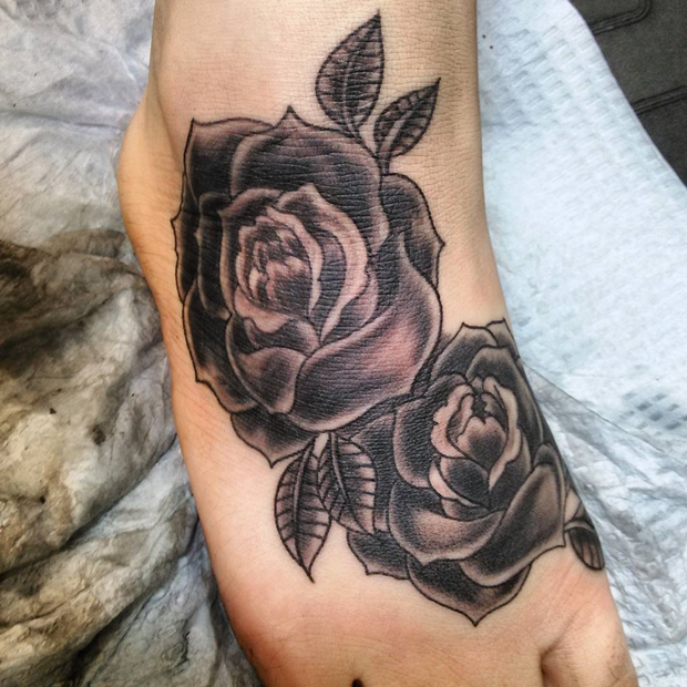 Black Rose Tattoo-13