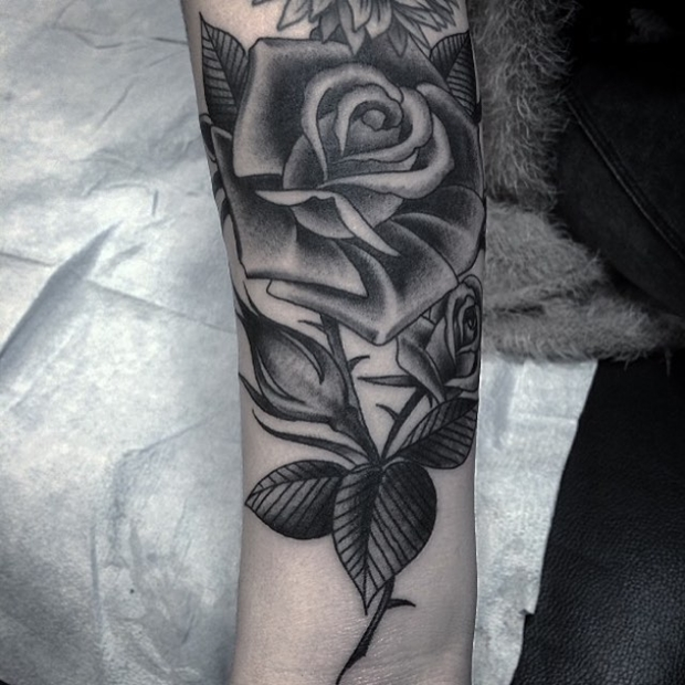 Black Rose Tattoo-17
