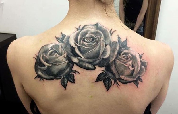 Black Rose Tattoo-2