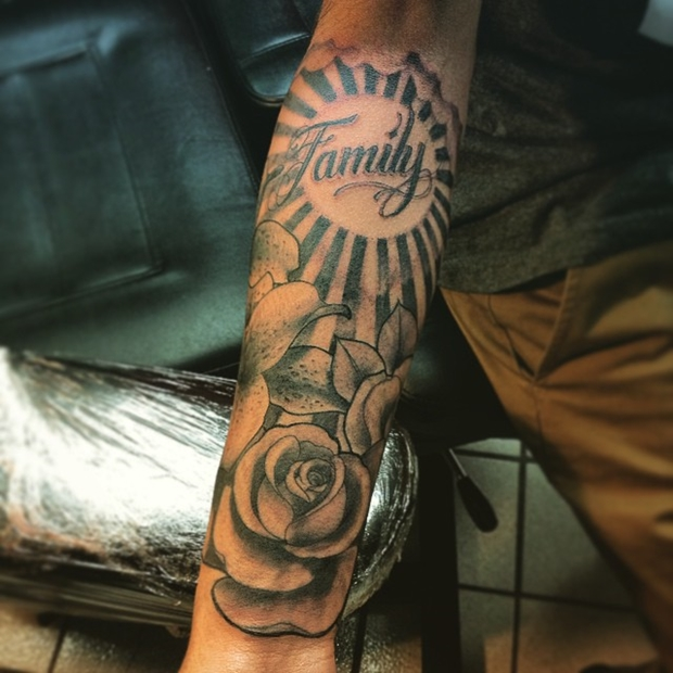 Black Rose Tattoo-3