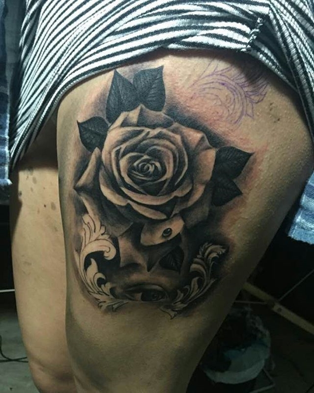 Black Rose Tattoo-32