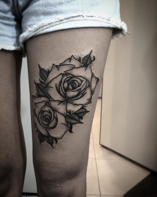 Black Rose Tattoo 36