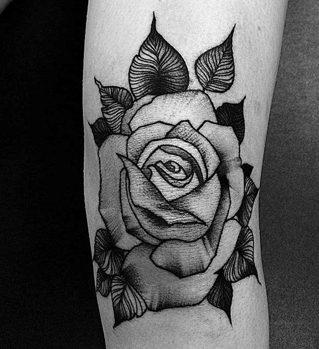 Black Rose Tattoo-39