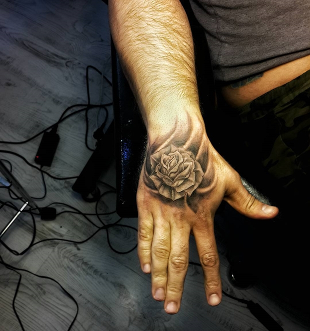 Black Rose Tattoo-4